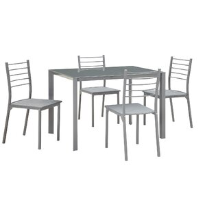 Maddison 5 Piece Dining Set by Zipcode Design
