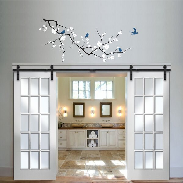 Verona home design mdf primed interior barn door reviews - Interior design verona ...