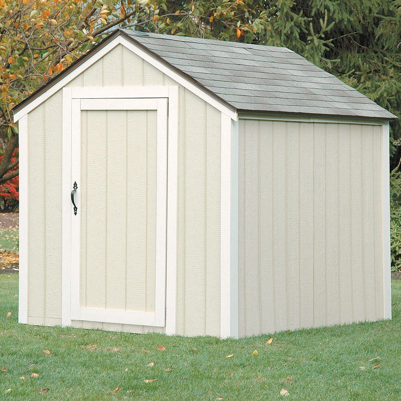 2x4 Basics Peak Roof 7 Ft. W X 6 Ft. D Storage Shed Kit