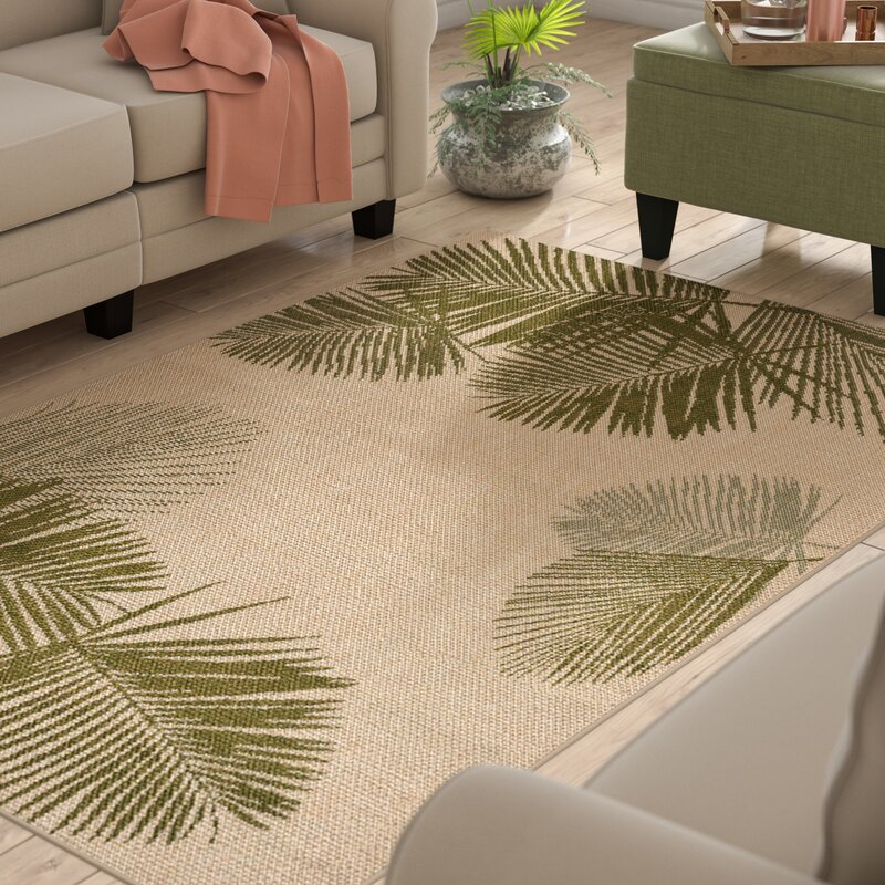 Beachcrest Home Cecile Natural Indoor Outdoor Area Rug Reviews