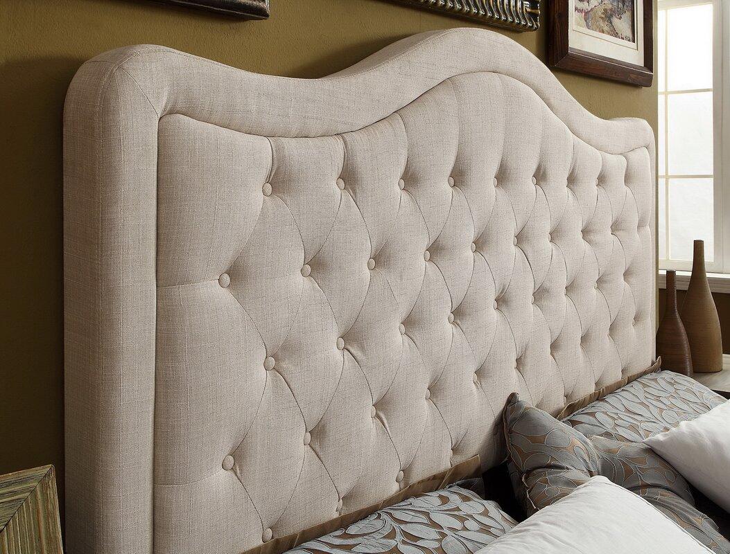 Wayfair Tufted Headboard Tufted Headboard In Bedroom: Darby Home Co Turin Tufted Upholstered Panel Headboard