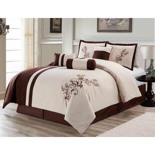 Beesley 7 Piece Soft Comforter Set