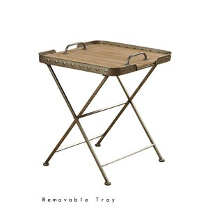 Waycross Folding End Table..