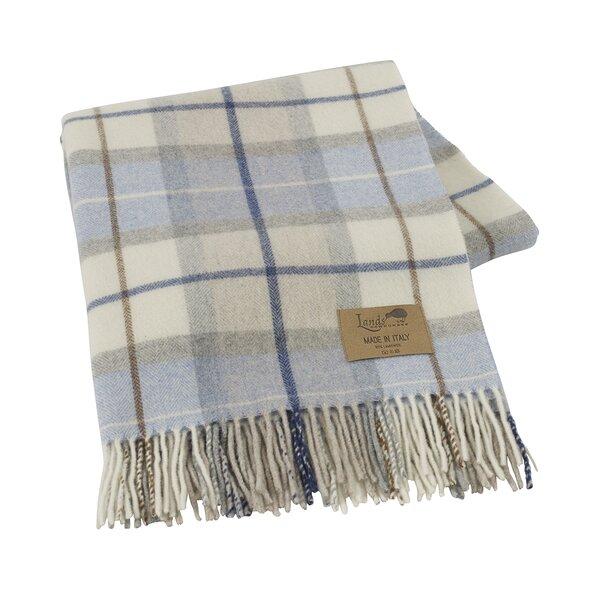 Lands Downunder Italian Plaid Lambswool Throw Blanket Reviews Inspiration Italian Throw Blanket