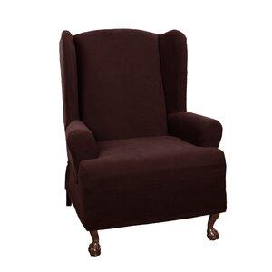 T-Cushion Wingback Slipcover