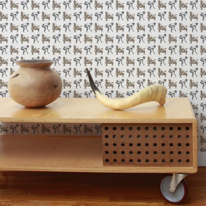 "Analog 15' x 27"" Sumo Wallpaper"