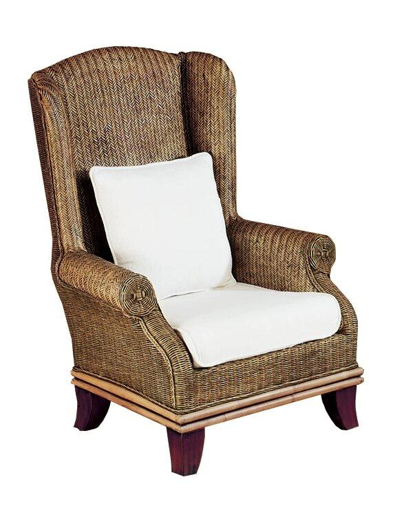 Padmas Plantation Bali Wing Back Chair Wayfair