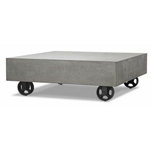 7e353b1048a4 Faux Concrete Coffee Table