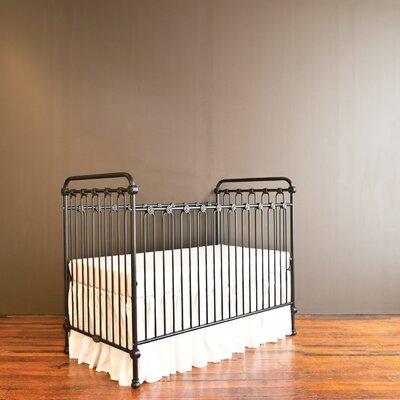 Bratt Decor Joy Baby 3-in-1 Convertible Crib Color: Black