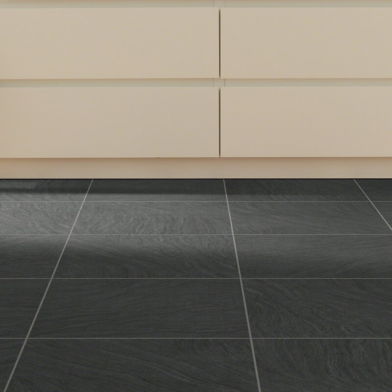 Stone Slate Look Vinyl Flooring Youll Love Wayfair - 18 x 24 slate tile