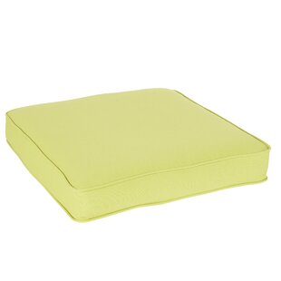 Pear Green Indoor Outdoor Square Chair Cushion