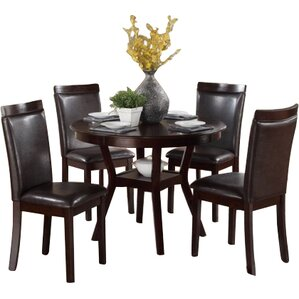 Marjorie 5 Piece Dining Set by Red Barrel..