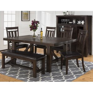 Apple Valley 6 Piece Dining Set by Three Posts