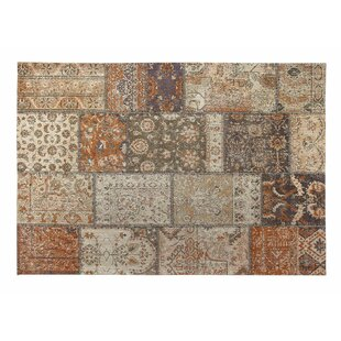 Surface Orange/Beige Area Rug by Wildon Home