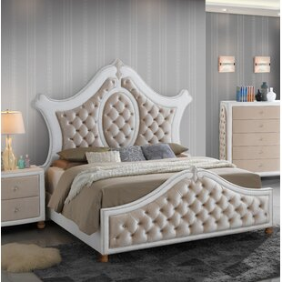 Lees Upholstered Panel Bed