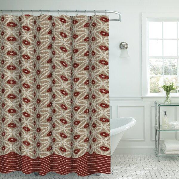 Bath Studio Oxford Fabric Weave Textured Shower Curtain Set U0026 Reviews |  Wayfair