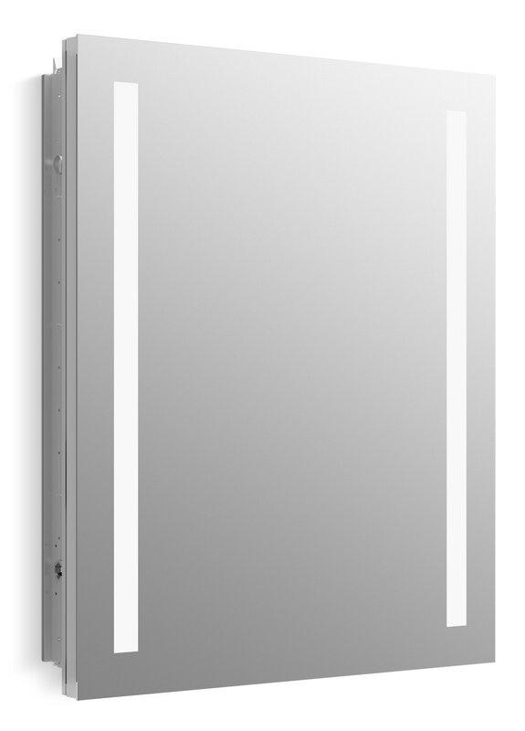 Verdera Lighted Medicine Cabinet 24 W X 30 H With Lighting Reviews Allmodern