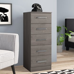 Minnesota 5 Drawer Chest of Drawers By Hokku Designs