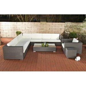 8-tlg. Sofa-Set Pihlajavesi mit Kissen von Home & Haus