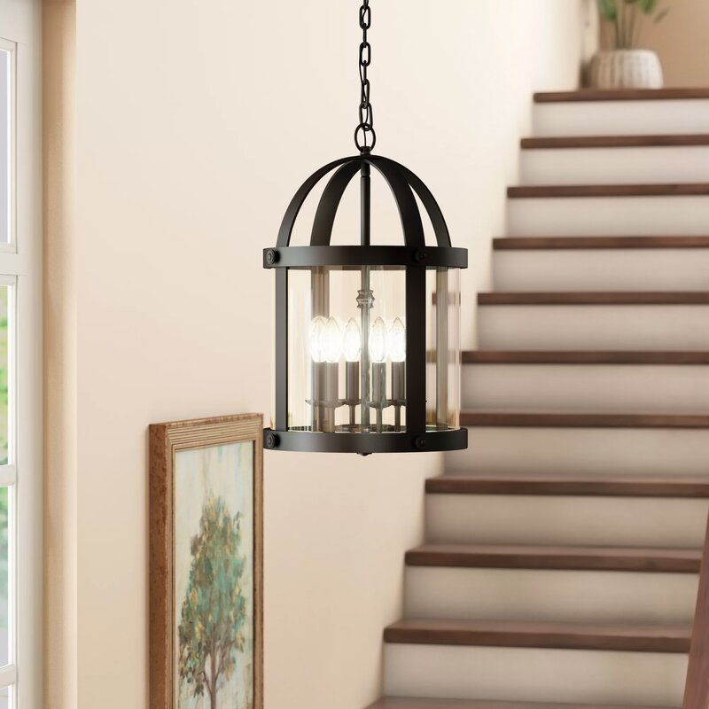 Bretz 6-light Foyer Pendant