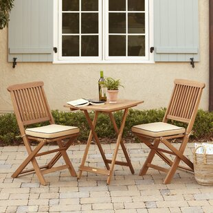 952f74cbe69 Roseland 3 Piece Bistro Set with Cushions