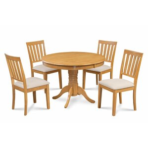 Cedarville Elegant 5 Piece Wood Dining Set by Al..