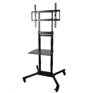 rolling tv audio mount av cart