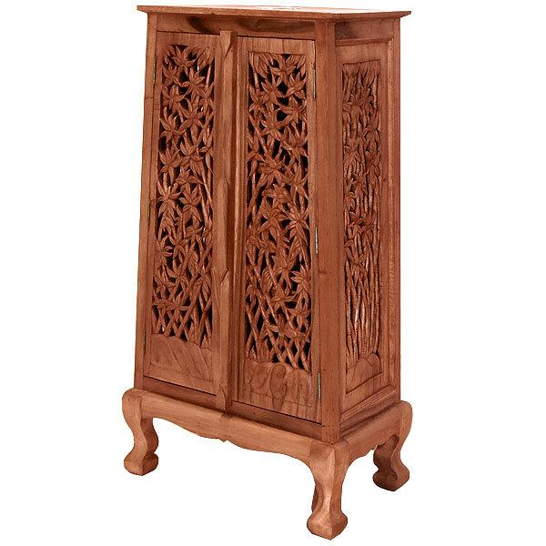 sc 1 st  Wayfair & EXP Décor Acacia 2 Door Storage Accent Cabinet   Wayfair