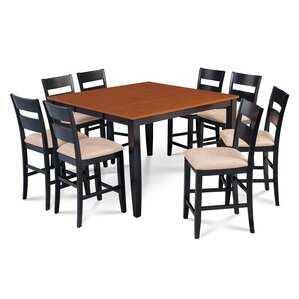 Charlestown 9 Piece Counter Height Dining Set by Alcott Hill