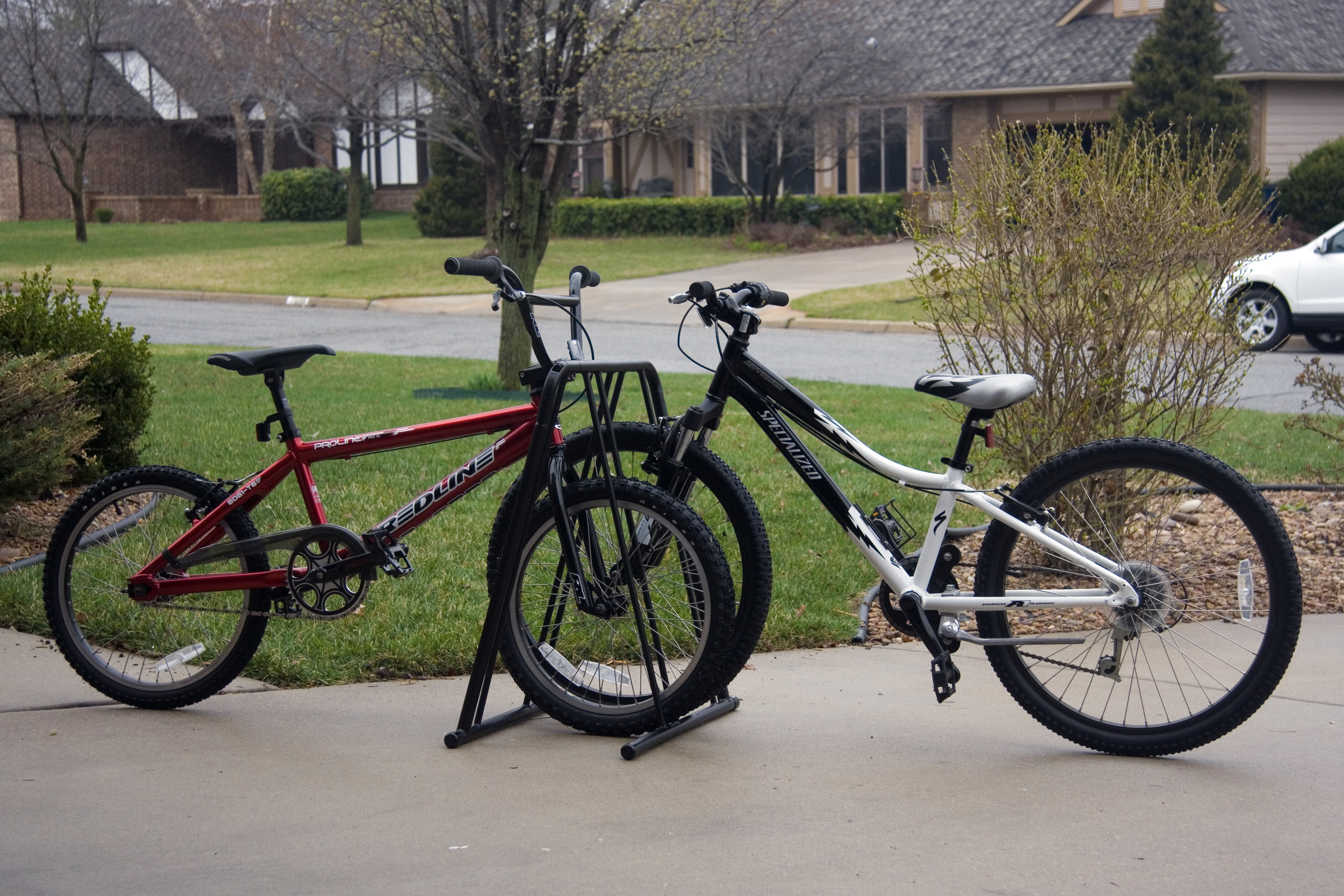 mounted bike rack steel hitch of capacity ironton lb