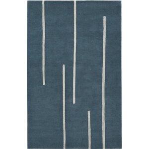 Tasgaon Hand-Tufted Blue Area Rug