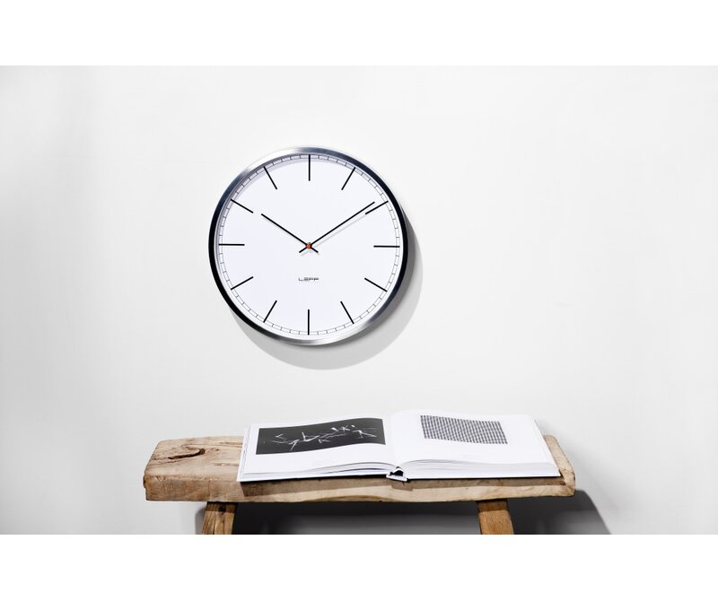 Leff Amsterdam One35 1378 Stainless Steel Wall Clock Reviews
