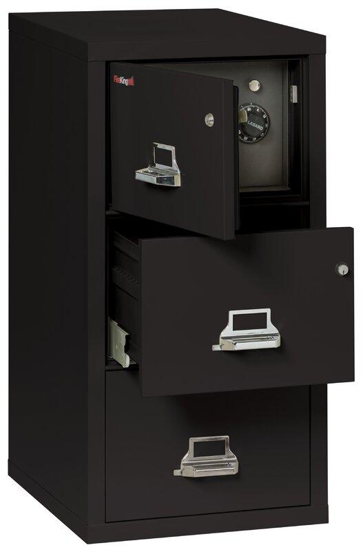Legal Safe-In-A-File Fireproof 2-Drawer Vertical File Cabinet