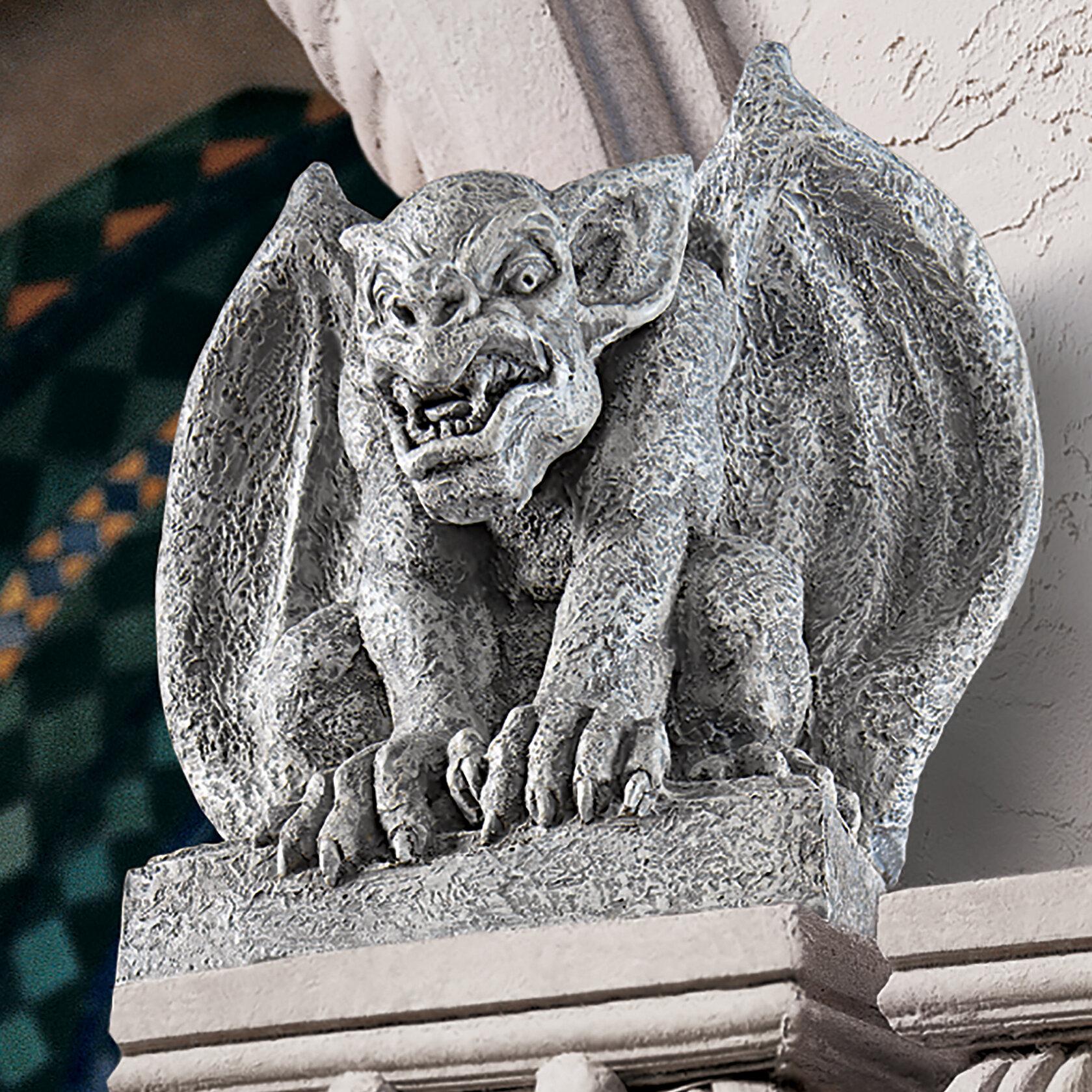 The Fire Dragon Wall Sculpture Gothic Home Decor Indoor Gargoyle