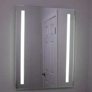 Lighted And Illuminated Beautiful Wall Mirror. Lighted And Illuminated  Beautiful Wall Mirror. By Erias Home Designs