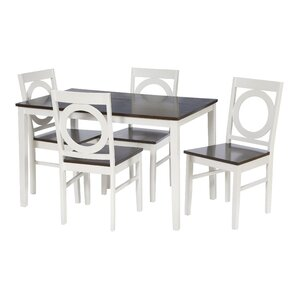 Janet 5 Piece Dining Set by Zipcode Design