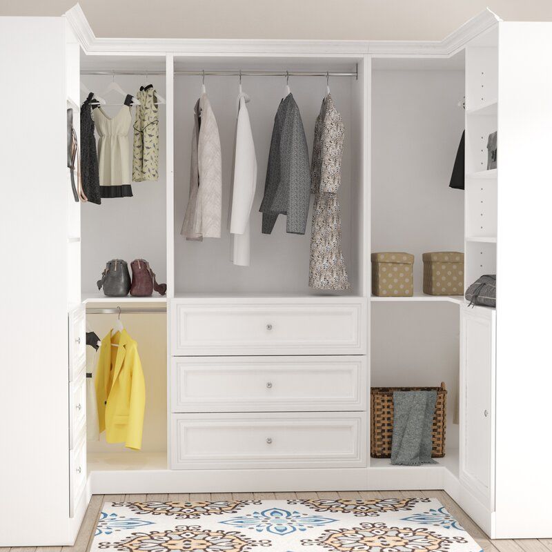 Closet Systems Organizers Youll Love Wayfair - High end closet design