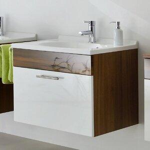 Belfry Bathroom 70 cm Einzelwaschbecken-Set Mont..