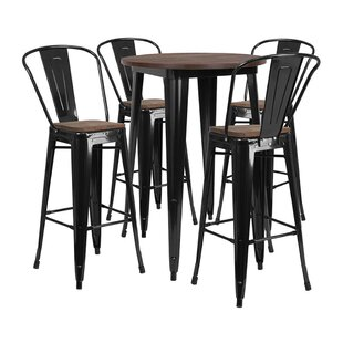 Muirhead Round 5 Piece Pub Table Set