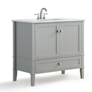36 inch bathroom vanity with top. Chelsea 36  Single Bathroom Vanity Set with Mirror Inch Vanities