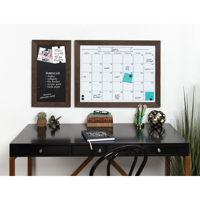 Union Rustic Framed Magnetic Wall Mounted Chalkboard & Reviews ...