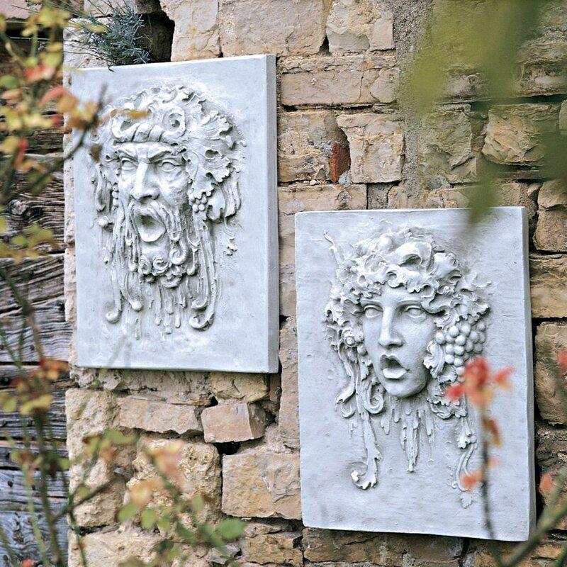 2 Piece Italian Style Large Scale Wall Décor Set