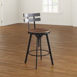 Henley Adjule Height Swivel Bar Stool
