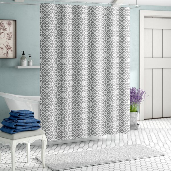 Carollynn Tile Shower Curtain