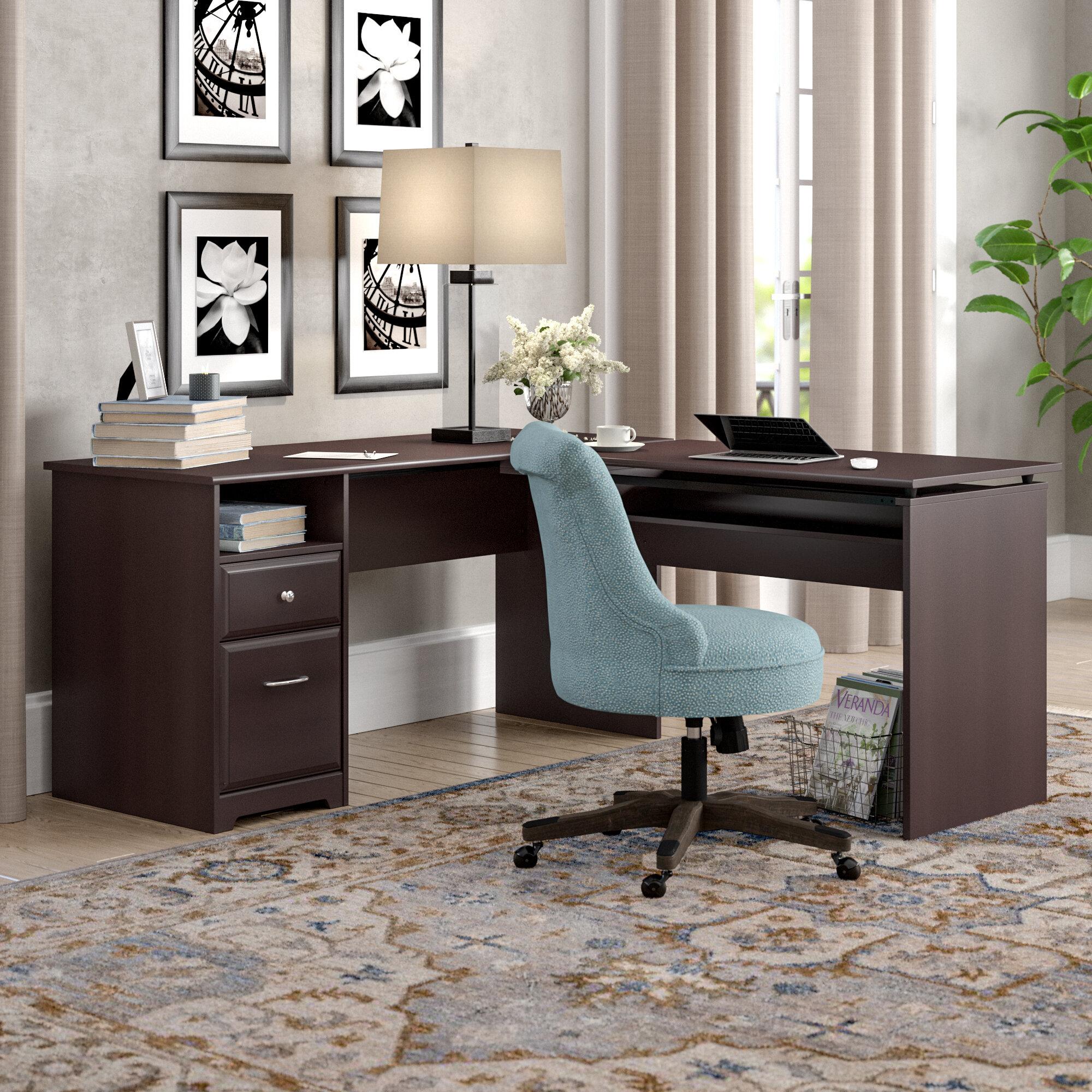 Red Barrel Studio Hillsdale L Shaped Height Adjustable Standing Desk &