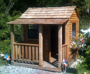 Outdoor Living Today Little Squirt 6 79' x 6 58' Playhouse