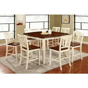 Quirke Counter Height 7 Piece Pub Table Set