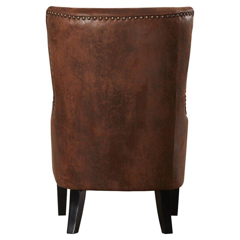 chair with high back alcott hill gordon high back wingback chair u0026 reviews wayfair