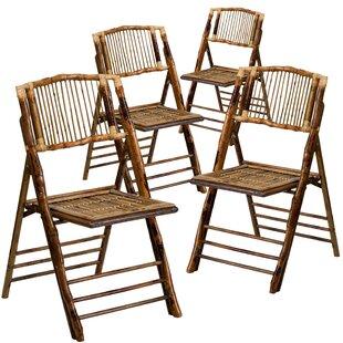 American Champion Wood Folding Chair Set Of 4