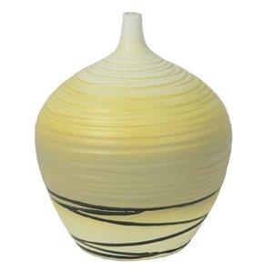 Elegant Lily Gourd Floor Vase